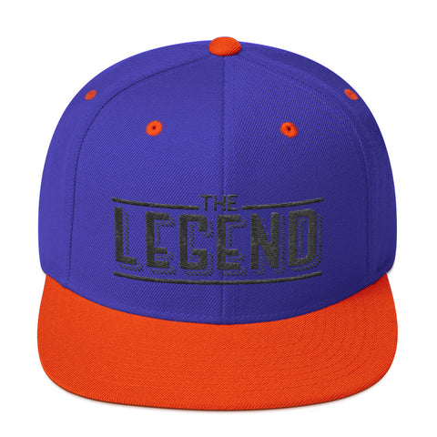 The legend Snapback Hat