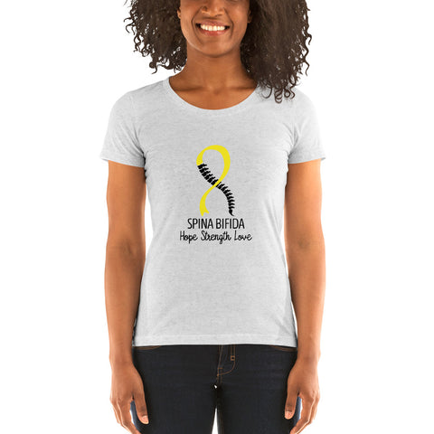 Spina Bifida Ladies' short sleeve t-shirt