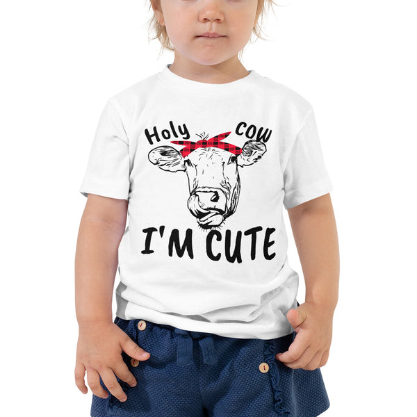 Holy cow Toddler Short Sleeve Tee