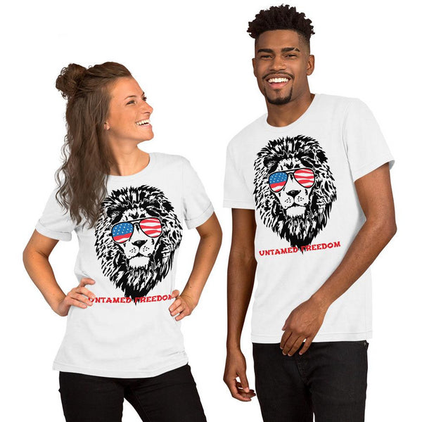 UNTAMED freedom Short-Sleeve Unisex T-Shirt