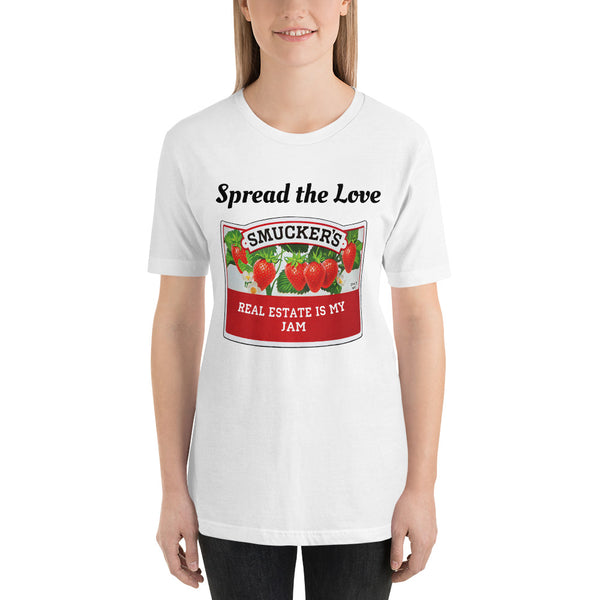spread the love Short-Sleeve Unisex T-Shirt