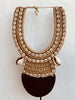Collier papou ancien en coquillages