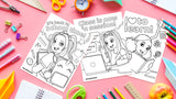 PRINTABLES: Back To School Coloring Sheets