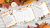 FREE PRINTABLES: November Prompts and Puzzles