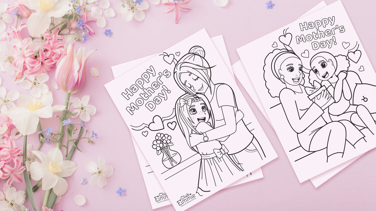 PRINTABLES: Mother's Day Coloring Sheets