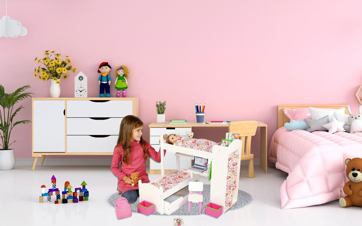 Playtime by Eimmie Rated Editor's Choice, Top 10 Best Bunk Beds For Dolls