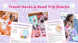 Travel Hacks and Road Trip Snacks: Travel Time Playtime Pack + Activities