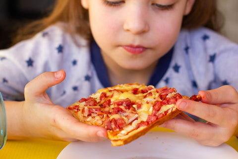 playtime by eimmie, back to school pizza, baking with eimmie