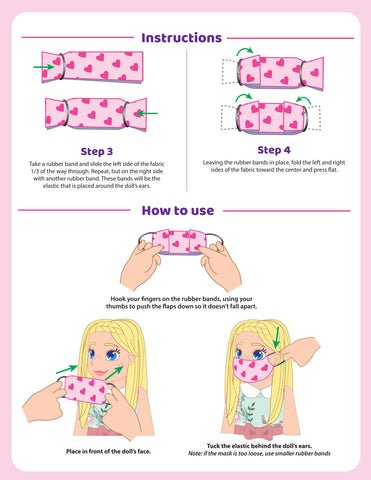 no sew face mask step by step instructions
