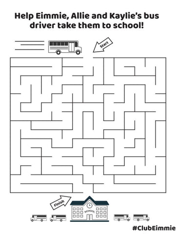 maze printable free for kids