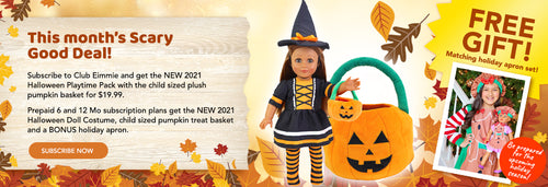 monthly deal for doll clothing
