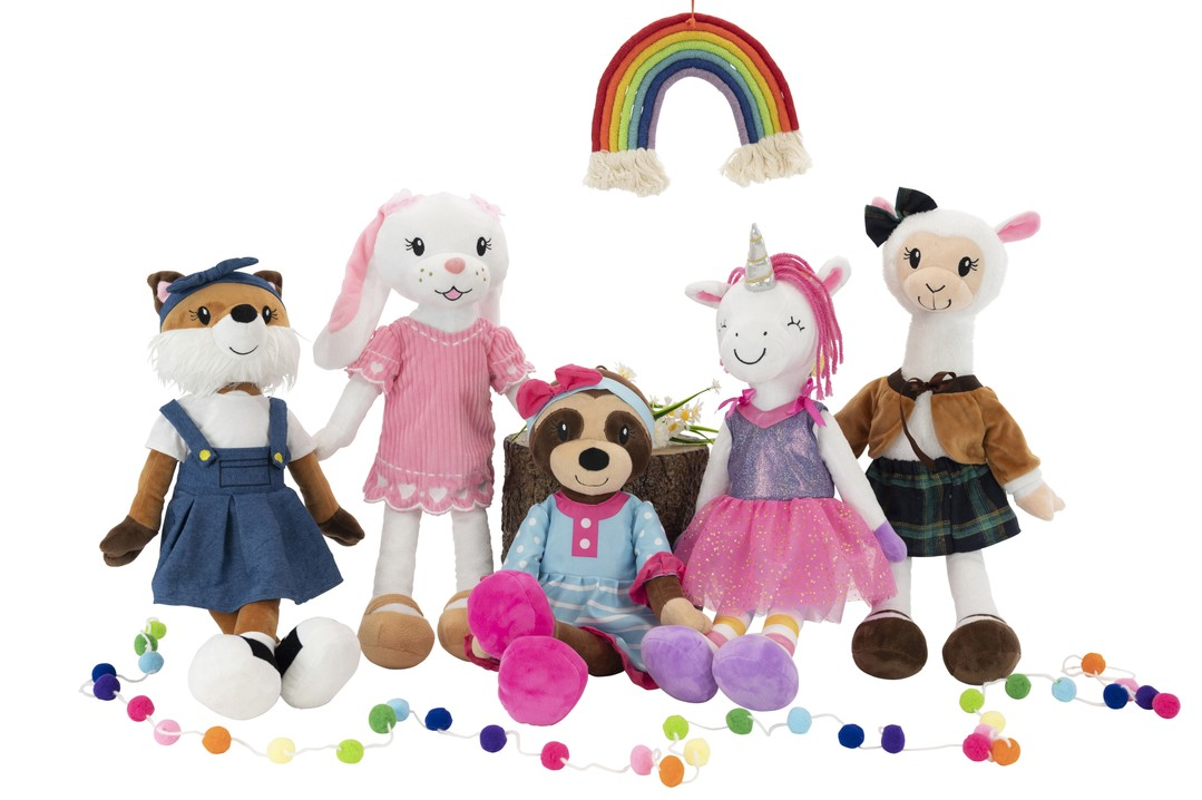 image of all sharewood forest friends plush animal toy