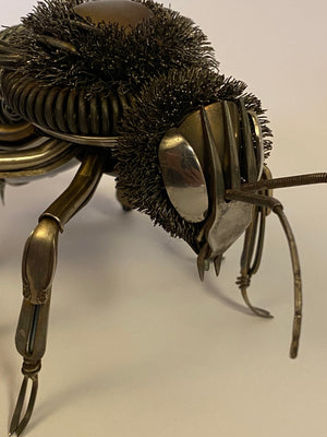 """Bee"" - Metal Bee Sculpture"
