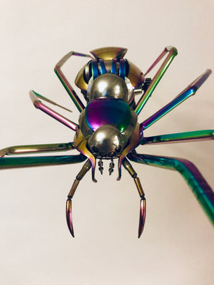 Radioactive Rainbow Spider