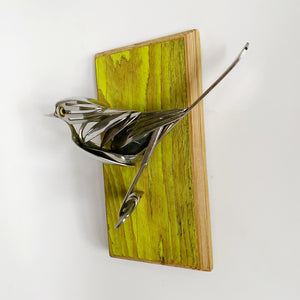 """Neo"" - Metal Bird Sculpture"