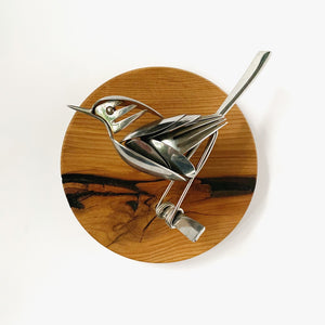 """Andy"" - Metal Bird Sculpture"