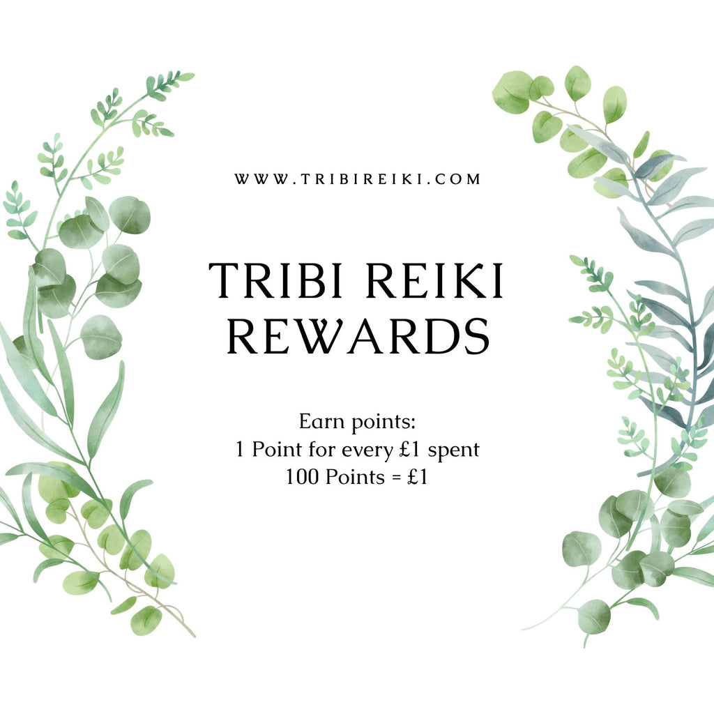 Tribi Reiki Rewards