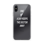 IPHONE X/Xs  ''one apple a day keeps the doctor away''