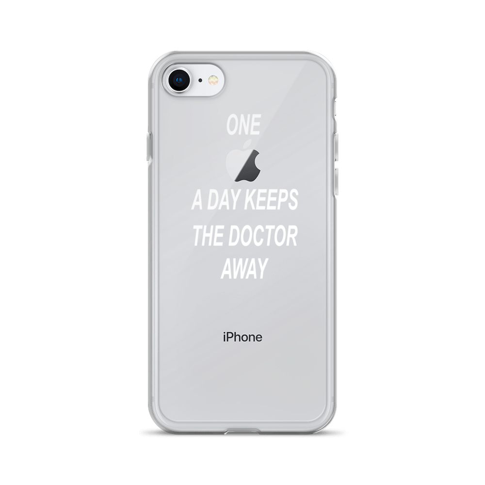 IPHONE 7/8/7 o 8 Plus ''one apple a day keeps the doctor away''