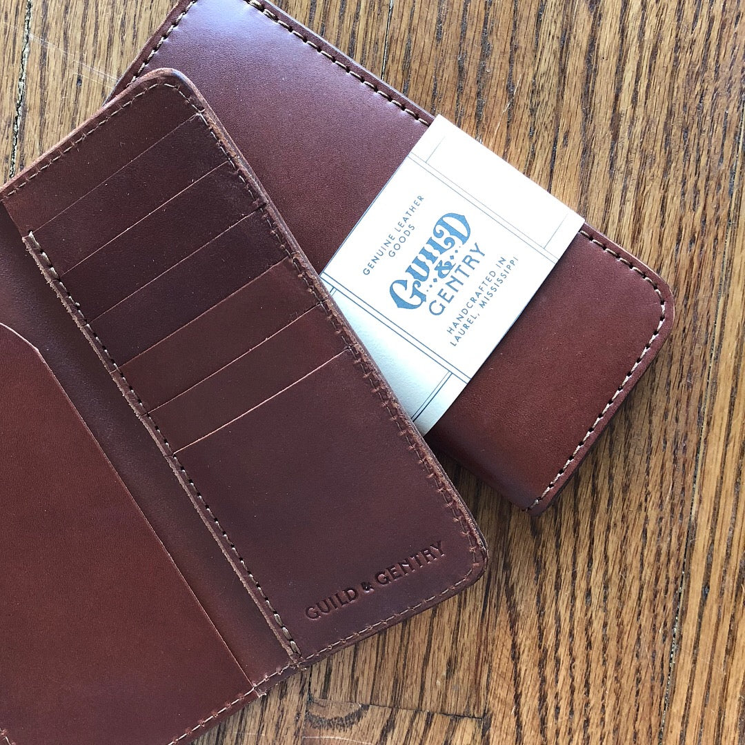 Guild and Gentry Vertical Wallet