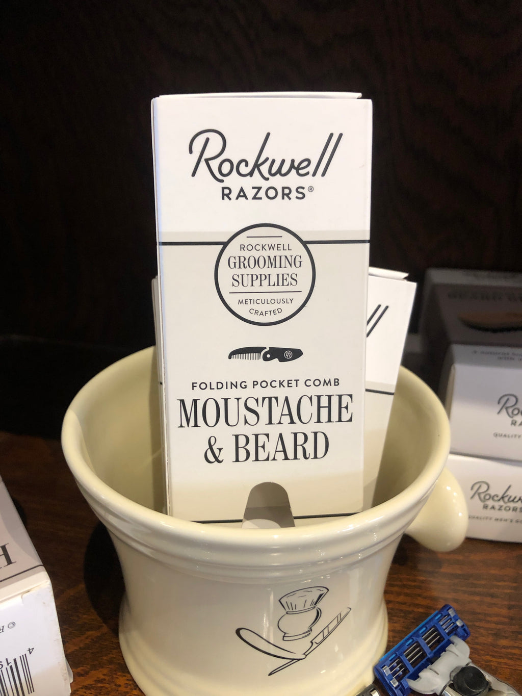 Rockwell Razors Beard and Mustache Comb