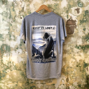 Simply Southern Gray Mountain Dog T-Shirt
