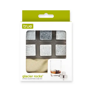 Glacier Rocks® 6 Piece Soapstone Cube Set