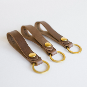 Clayton and Crume Leather Key Chain