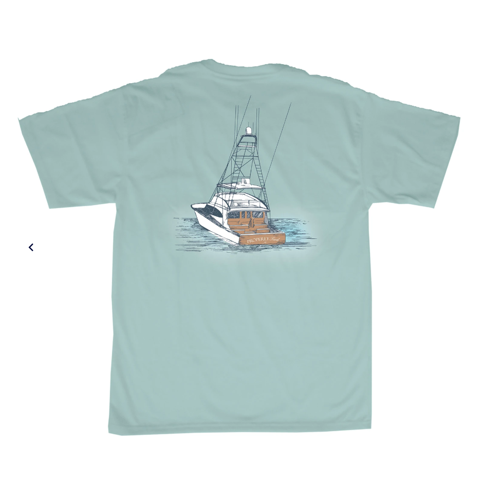 Properly Tied Boys Deep Waters SS T-shirt
