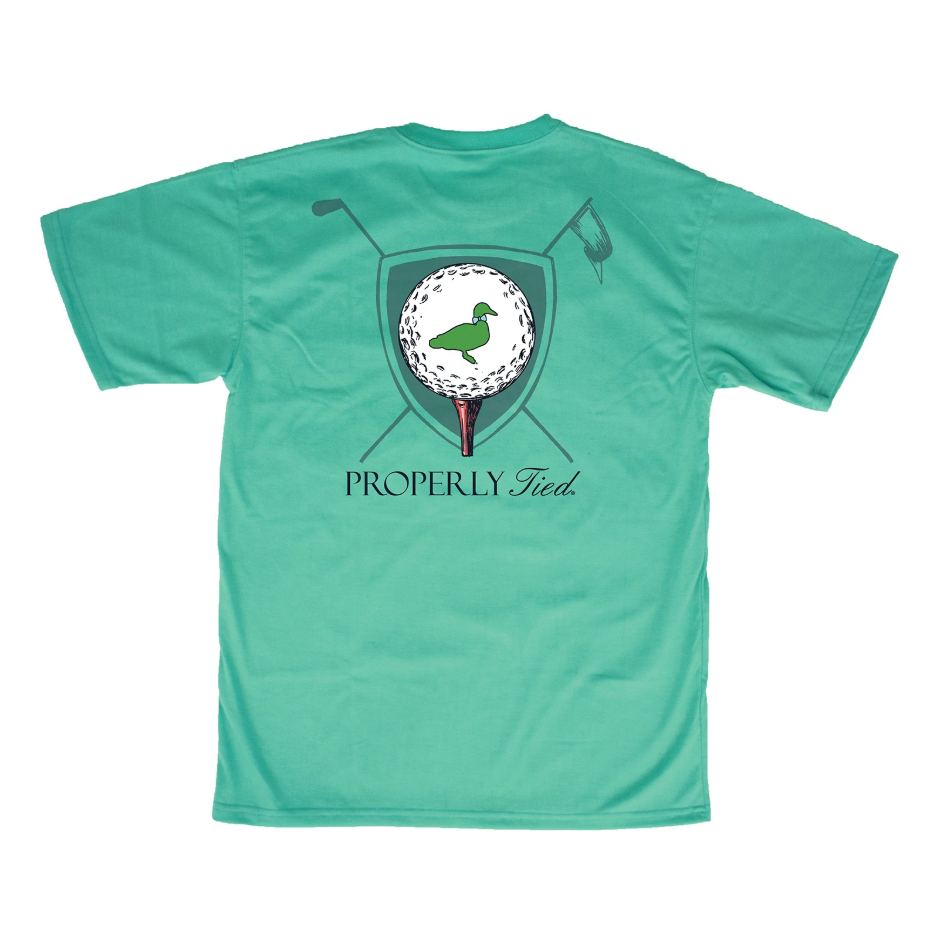 Properly Tied Boys Tee Time SS T-shirt