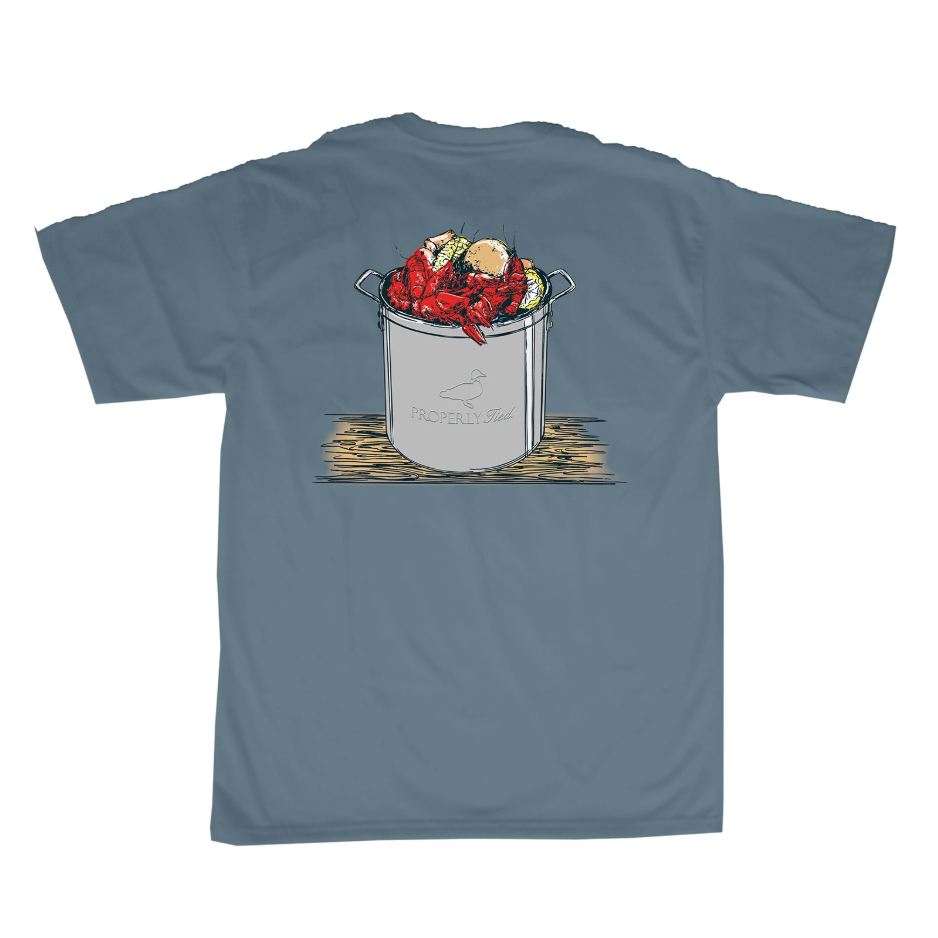 Properly Tied Boys Summer's Catch SS T-shirt