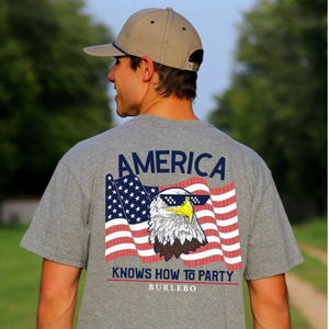 Burlebo America Knows How to Party T-Shirt