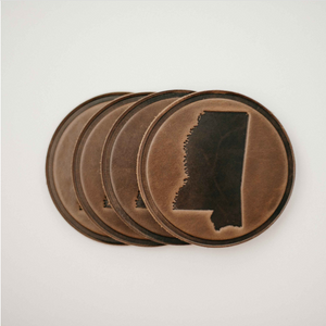 Mississippi Circle Coasters
