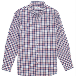 Properly Tied Seasonal Sportshirt - Cardinal