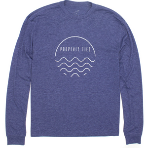 Properly Tied Portland LS T-shirt - Waves