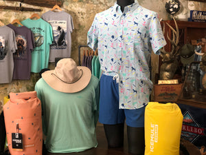Simply Southern Short Sleeve Performance Button Down