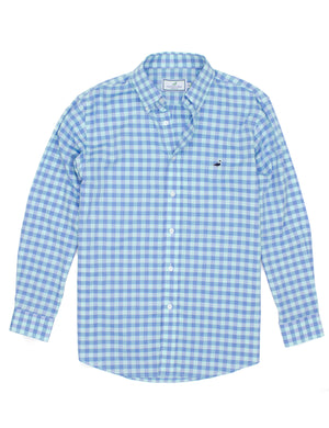 Properly Tied Seasonal Sportshirt - Lagoon