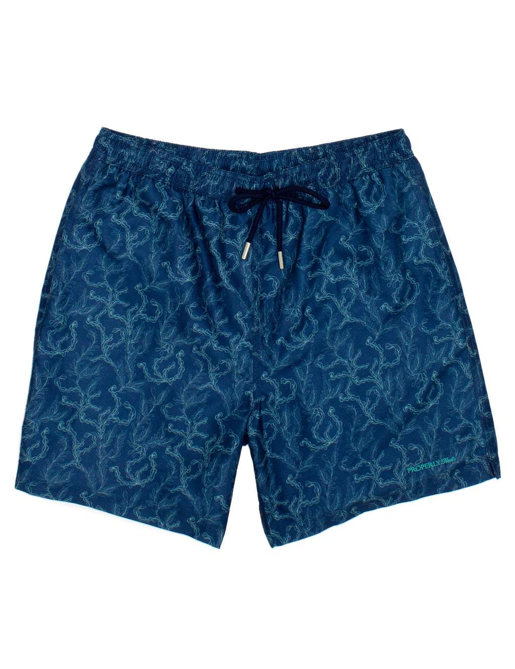Properly Tied Boys Swim Trunks - Coral Reef