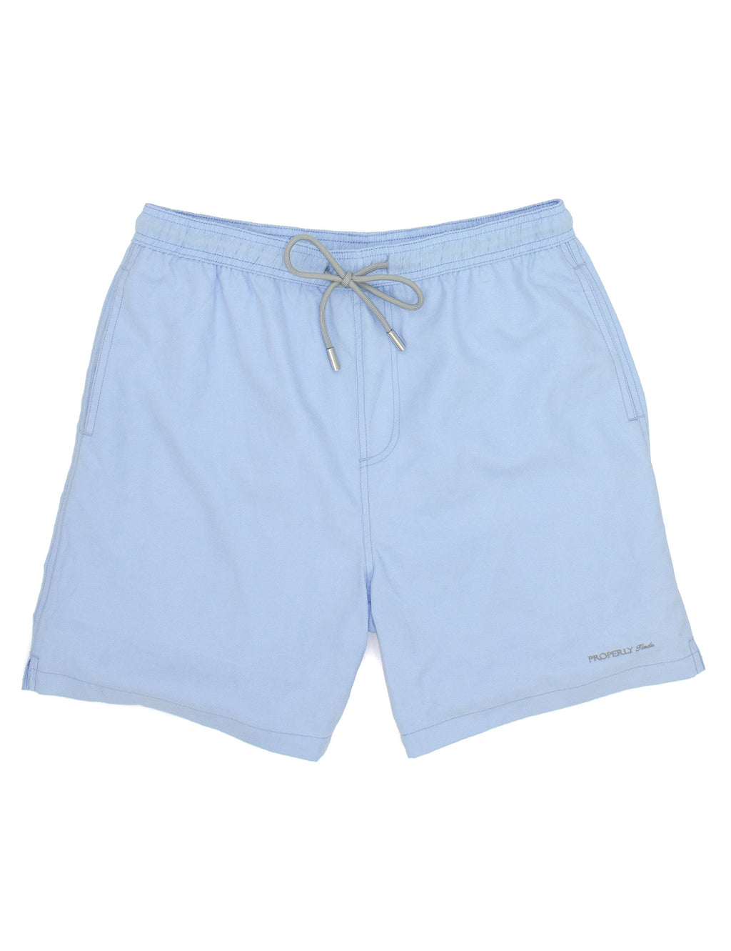 Properly Tied Boys Swim Trunks - Light Blue