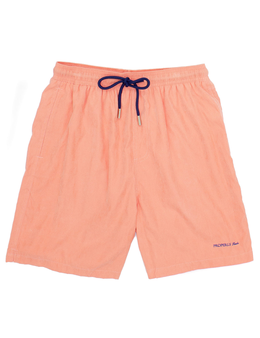 Properly Tied Boys Swim Trunks - Melon