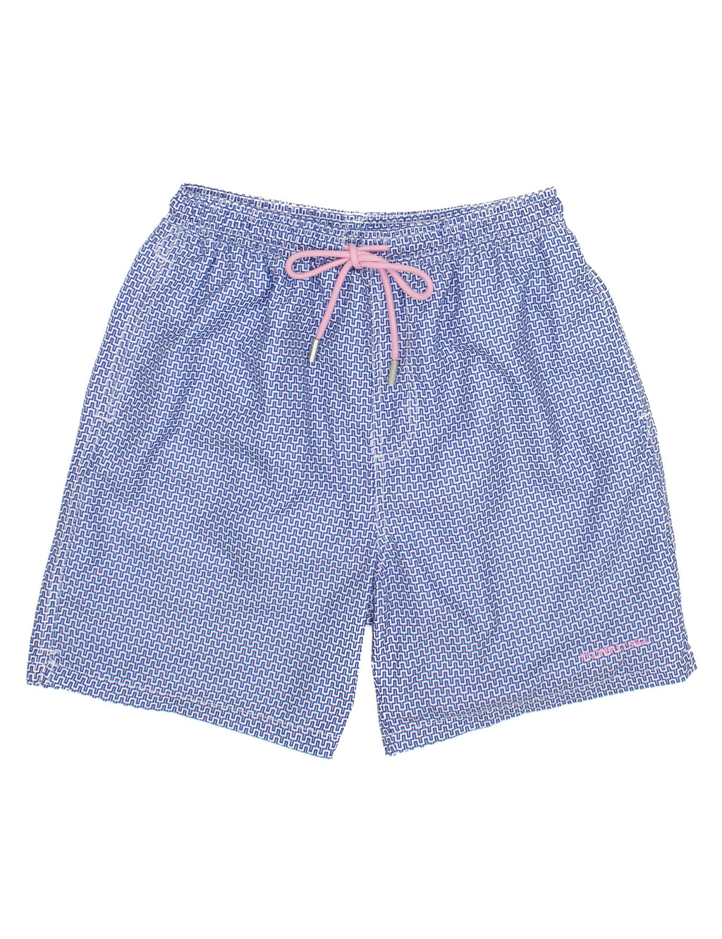 Properly Tied Boys Swim Trunks - Santorini