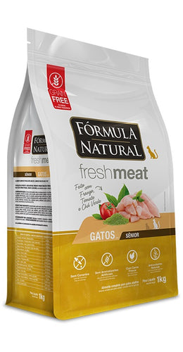 Fórmula Natural Fresh Meat Gatos Senior 7 Kg (Grain Free)