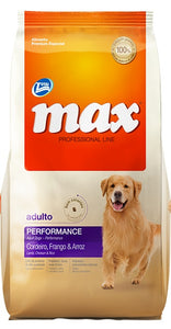 Max Performance adultos sin colorantes