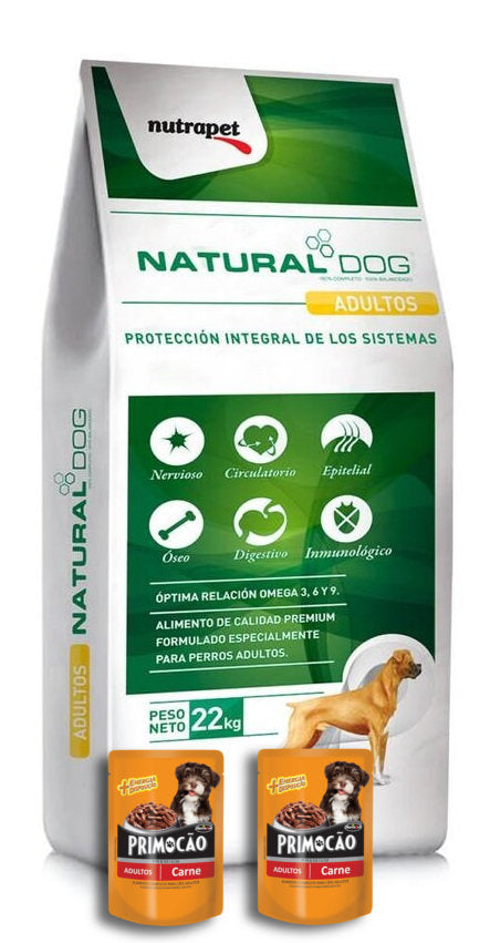 Natural Dog alimento en Rocha
