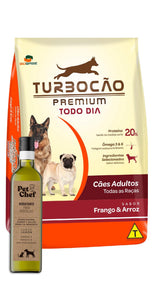 Turbocao Premium Adultos + Petchef