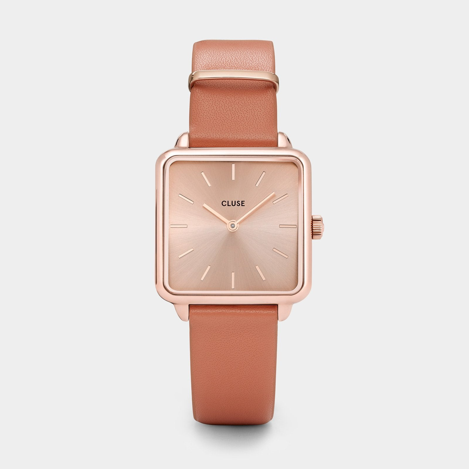 CLUSE La Tétragone Rose Gold/Butterscotch CL60010 - Horloge