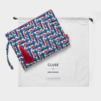 CLUSE x Mino Design Keys to Success Tassel ​Clutch ​Bag CLB004 - clutch bag pouch