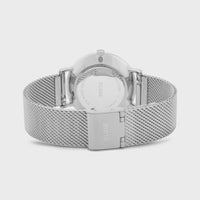 CLUSE Minuit Mesh Silver Silver/Silver CW0101203011 - Watch clasp and back