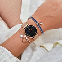 Strap 16 mm Mesh Rose gold/Rose Gold CS1401101030 - bandje op pols