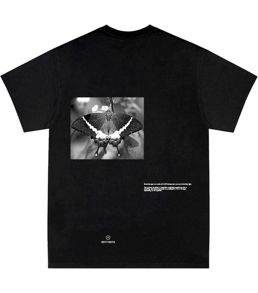 Grayscale Butterfly T-Shirt